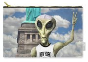 Alien Vacation - New York City Carry-all Pouch