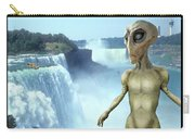 Alien Vacation - Niagara Falls Carry-all Pouch