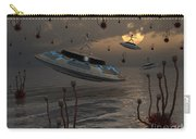 Aliens Celebrate Their Annual Harvest Carry-all Pouch by Mark Stevenson