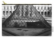 Aligned Pyramids At The Louvre Carry-all Pouch