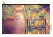 Aline At The Gate Girl In The Garden 1884 Carry-all Pouch
