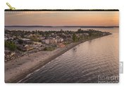 Alki Point Aerial Sunset Carry-all Pouch