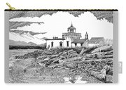 Alki Point Lighthouse Seattle Carry-all Pouch