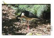 All Clear - Bird Looking Under Legs Carry-all Pouch