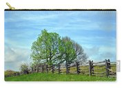 All Fenced In Along The Blue Ridge Parkway Carry-all Pouch
