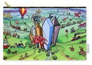 All Roads Lead To Dallas Texas Carry-all Pouch