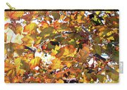All The Leaves Are Red And Orange Fall Foliage With Sunshine Carry-all Pouch