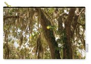 Allamanda And Oak Tree Carry-all Pouch