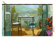 Alle Dieci Del Mattino Carry-all Pouch by Guido Borelli