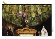 Allegory Of Camaldolese Order 1600 Carry-all Pouch