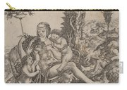 Allegory Of Mother Earth Carry-all Pouch