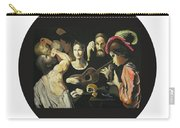 Allegory Of The 5 Senses Carry-all Pouch