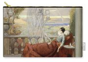 Allegory Of Tuberculosis, 1912 Carry-all Pouch