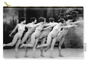 Allen Chorus Line, 1920 - To License For Professional Use Visit Granger.com Carry-all Pouch