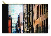 Alley Abstract #2 Carry-all Pouch