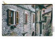 Alley In An Alpine Village #1 Carry-all Pouch