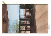 Alley W Fire Escape Carry-all Pouch