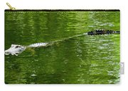 Alligator In Wait Carry-all Pouch