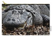 Alligator Waiting Carry-all Pouch