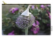 Allium Blossom With Cap Carry-all Pouch