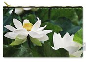 Sacred Lotus Plant Carry-all Pouch