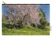 Almond Tree In Meadow Carry-all Pouch