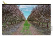 Almond Trees Of Button Willow Carry-all Pouch