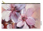 Almonds Blossom  12 Carry-all Pouch
