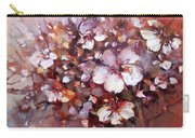 Almonds Blossom  7 Carry-all Pouch