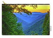 Almost Heaven - West Virginia 3 - Paint Carry-all Pouch