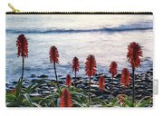 Aloe Vera In Flower At The Seaside Carry-all Pouch