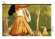 Aloha Hawaii, Hula Girl Dance Carry-all Pouch
