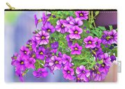 Aloha Purple Sky Calibrachoa Abstract I Carry-all Pouch