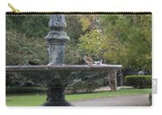 Alone In The Fountain Carry-all Pouch