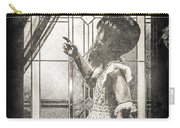 Along Came A Spider Carry-all Pouch by Bob Orsillo