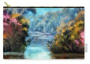 Along The Creek Carry-all Pouch