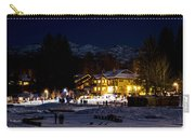 Along The Lake Night Carry-all Pouch