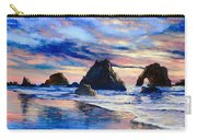 Along The Rocky Coast Carry-all Pouch