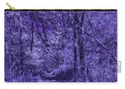 Along The Windowpane Path Carry-all Pouch