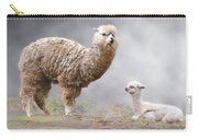 Alpacas Mum And Baby Carry-all Pouch