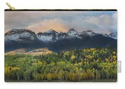 San Juan Mountains Fall Colors Sunrise Carry-all Pouch
