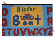 Alphabet Boat Carry-all Pouch