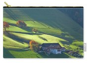 Alpine Farm And Meadows In Autumn Carry-all Pouch