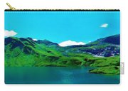 Alpine Lake, Ca 2017, Byy Adam Asar ,  In 3d Watercolor Carry-all Pouch