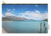 Alpine Scenery Panorama At Kinloch, New Zealand Carry-all Pouch