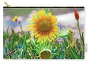 Alpine Sunflower In Summer Carry-all Pouch