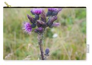 Alpine Thistle Carry-all Pouch