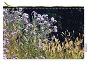 Alpine Thistles And Grasses Carry-all Pouch