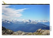 Alpine View In Canada Carry-all Pouch