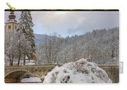 Alpine Winter Beauty Carry-all Pouch